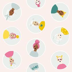 Confetti Friends in Blush