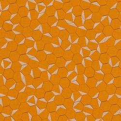 Hexagon in Saffron Pearlized