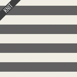 Striped Bold Knit in Graphite