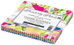 "Painterly Petals 2 5"" Charm Pack"