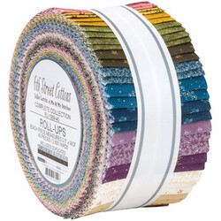 """6th Street Cottons 2.5"""" Strip Roll"""