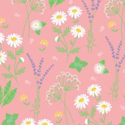 Garden Herbs in Rose