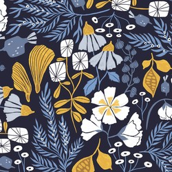 Bee Garden in Navy