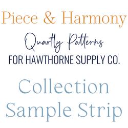Piece and Harmony Sample Strip
