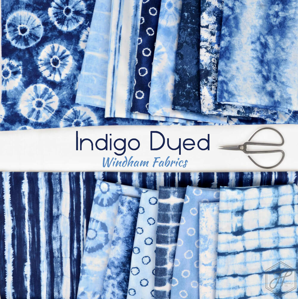 Indigo Dyed Poster Image