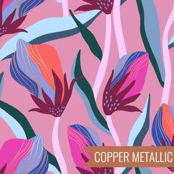 Bloom in Metallic Kiss