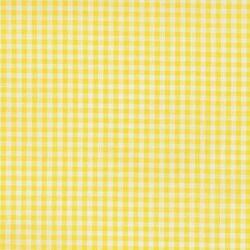 Tiny Carolina Gingham in Yellow