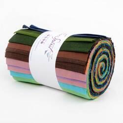 "Shot Cotton Stripes 6"" Design Strips"