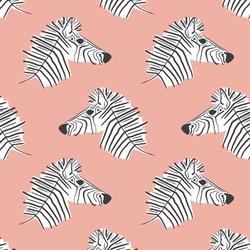 Burchell Zebra in Peony