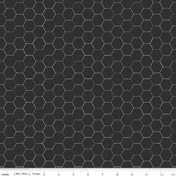Honeycomb in Black