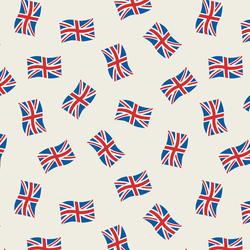 Union Jacks in Cream