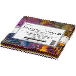 Artisan Batiks Charm Squares in Sonoma Vista