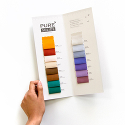 Pure Solids Supplement Color Card Panel in Swatches