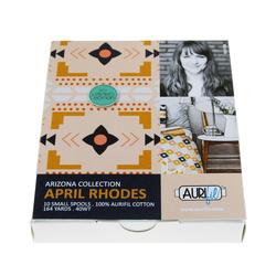 Aurifil Kit in Arizona Small Spools by April Rhodes