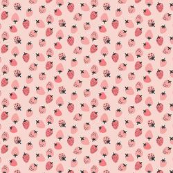 Little Strawberries in Pink Sugar