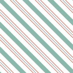 Candy Stripe in Winter