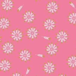 Safari Feathers in Pink Metallic