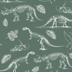 Fossils in Cactus Green