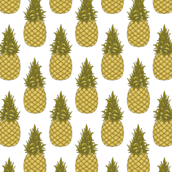 Little Pineapples in White