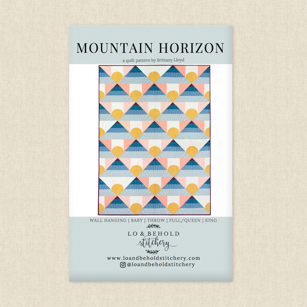 Mountain Horizon Sewing Pattern