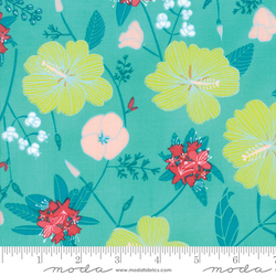 State Flowers in Sea Green