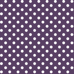 Candy Dot in Aubergine