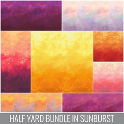 Sky Half Yard Bundle in Sunburst