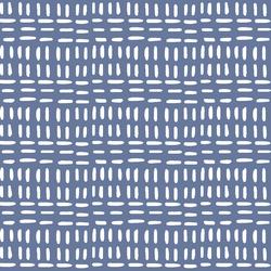Stitched in Azurite