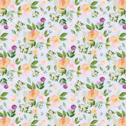 Little Garden Blooms in Cool Violet