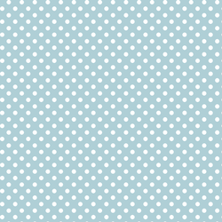 Tiny Dot in Powder Blue
