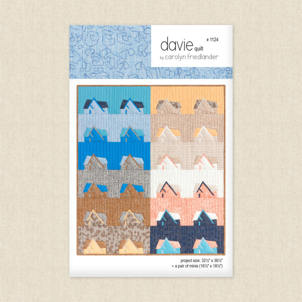 Davie Quilt Sewing Pattern