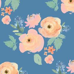 Garden Bouquet in Blue Yonder