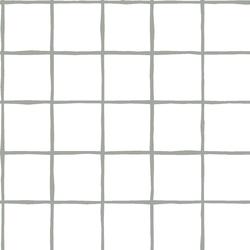 Windowpane in Sage on White