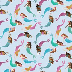 Mermaid Toss in Starlight