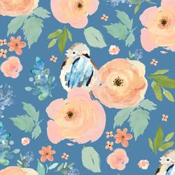 Bird Garden in Blue Yonder