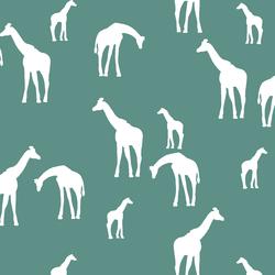 Giraffe Silhouette in Agate