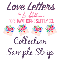 Love Letters Sample Strip