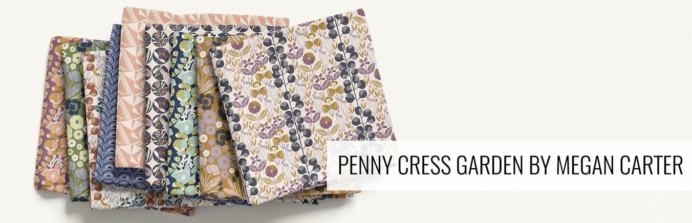 Penny Cress Garden by Megan Carter