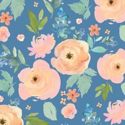 Spring Garden in Blue Yonder