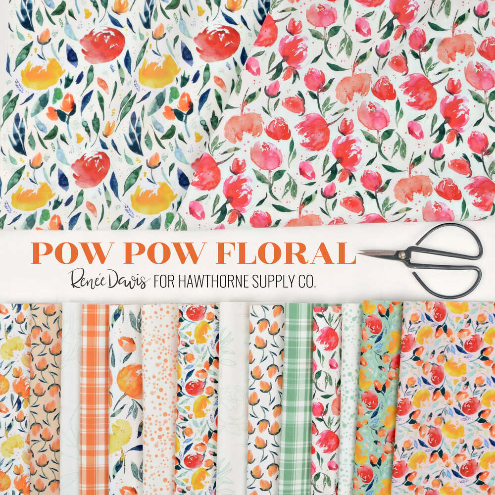 Pow Pow Floral Poster Image