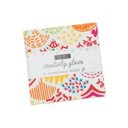 "Creativity Glows 5"" Square Pack"
