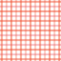 Spring Plaid in Strawberry