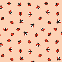 Ladybug in Ladybug Red