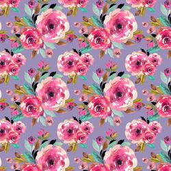 Little Roselynn Floral in Magenta on Iris