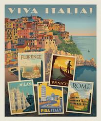 Poster Panel in Viva Italia