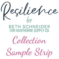 Resilience Sample Strip