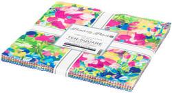 "Painterly Petals 2 10"" Square Pack"