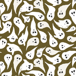 Large Spooky in Olive Green