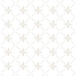 Painted Snowflake in Almond Sugar