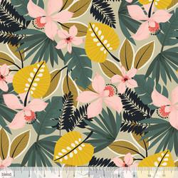 Hibiscus in Tan